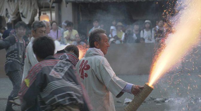豊川夏まつり -からくり花火・手筒花火-