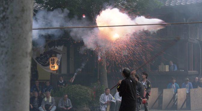 豊川夏まつりの煙火
