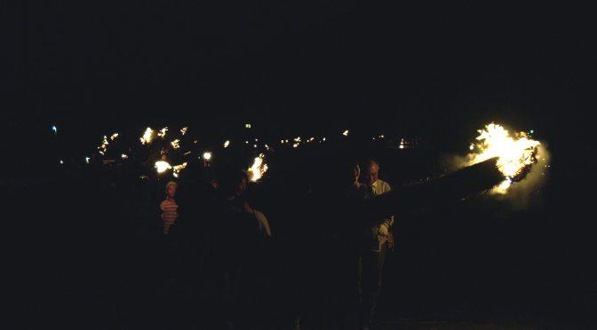 秋葉火祭り